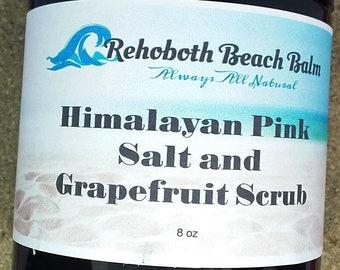 Himalayan Pink Salt and Grapefruit Scrub