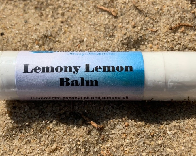 Lemony Lemon Balm Lip Balm