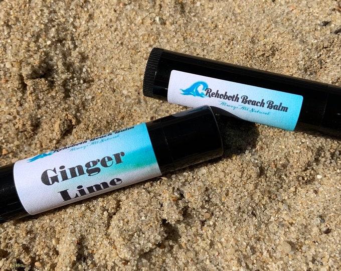 Ginger Lime Lip Balm