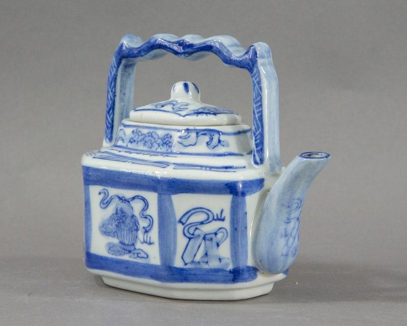 Vintage Chinese Porcelain Teapot