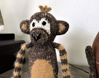 Monkey Hand Made Knit