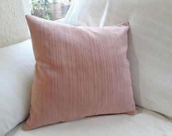 Cushion Cover Pink Corduroy Cloth
