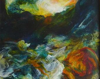 Maria Chevska Oil Painting.