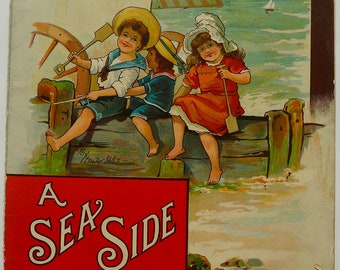 "1896. A Seaside Holiday. Farquharson's ""English"" Series No.2.   by Emily White"