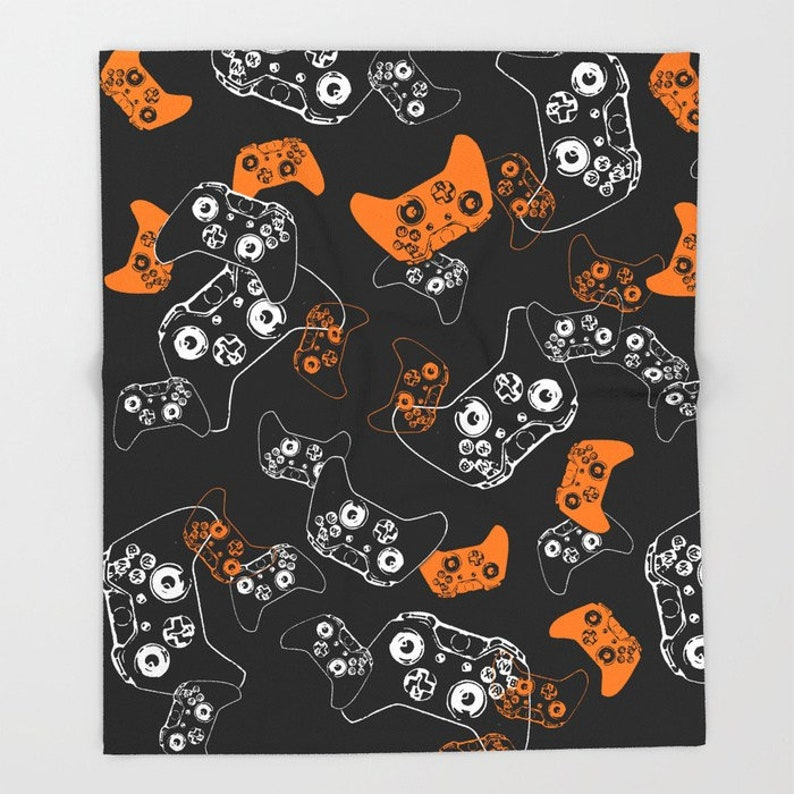 Video Game Room Gamer Blanket Gaming Gifts Gaming Bedroom Gaming Room Man Cave Gamer Fleece Blanket Gamer Room Gamer Throw Blanket