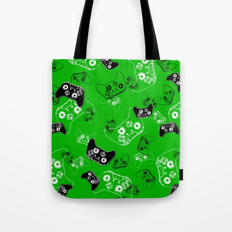 Video Game Birthday Gamer Party Gamer Gifts Gamer Mom Gamer Birthday Gift Tote Bag Gamer Girl Gamer Bag Gaming Gifts