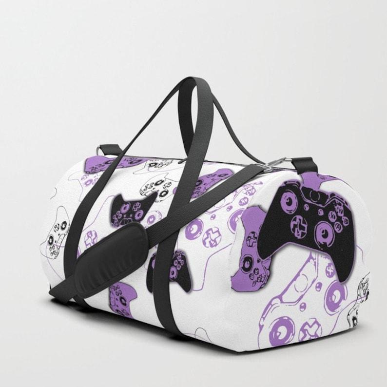 deeba6b2ac Girl Gamer Duffle Bag Gym Bag Video Game Bag Sports Bag