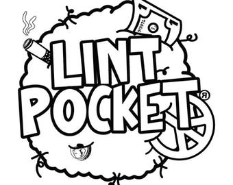 Lint Pocket coloring sheets