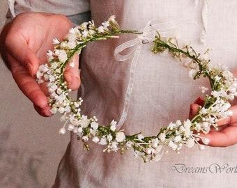 Flower girl headband  c43aa4ae77b