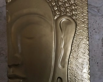 Large Buddha Wall Plaque