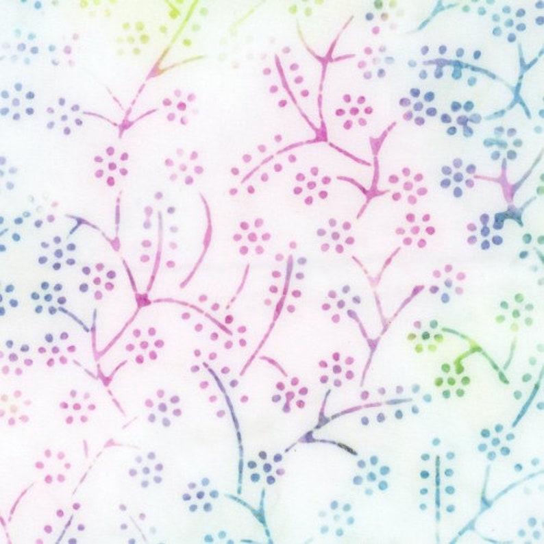Batik Quilt Fabric 40 Pieces Jelly Roll Bejeweled Batiks 2.5\u201dx44\u201d PreCut Fabric Strips by Maywood Studio