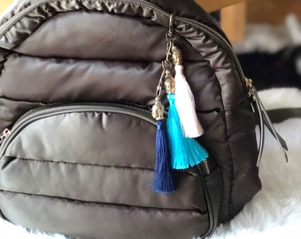 Tassel Keychain & Purse Charm (Choose Color)