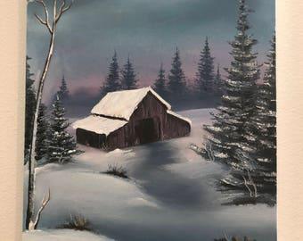 Cabin Getaway (Oil Painting)