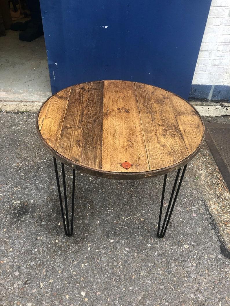 Cast Iron Wagon Wheel Table Etsy