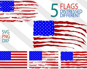 Distressed Flag svg, tattered flag svg, usa flag svg, 4th of July svg, American flag distressed svg, fourth of july, svg cut file,