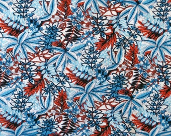 NORDIC FLOWER GARDEN- Jersey cotton with all over print