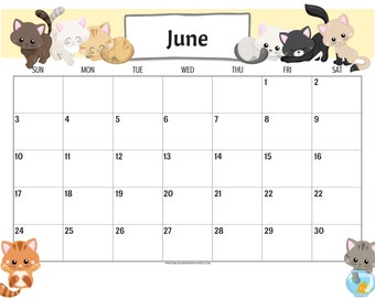 cute cats 2019 calendar printable planner pdf with free 2018 calendar