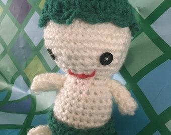 Amigurumi Crochet Baby Doll