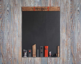 Slate Vintage, orange blackboard, blackboard menu, blackboard bar, wooden reminder, rectangular blackboard, vintage blackboard, reminder