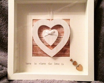 Lovely home freestanding or wall mounted frame
