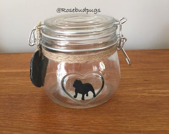 British Bulldog Small Storage/Treats Jar
