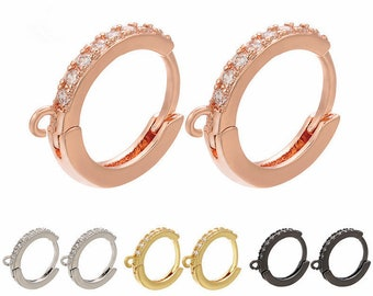 100 Pcs Hypoallergenic Steel Circle Earring Loops Geometric Hollow Wine Glass Big Round Party Earring Hoop Ring Set Jewelry Findings for Earring Crafts Jewelry Making