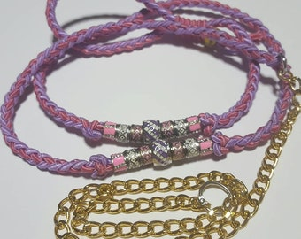 In the Pink Show Dog Leash