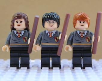 Harry Potter Ron Weasley Hermione Grainger Mini Figures Fit lego Marvel,Ninjago