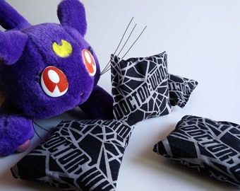 2 Catnip Pillows, Cat toys, Catnip Cat toy