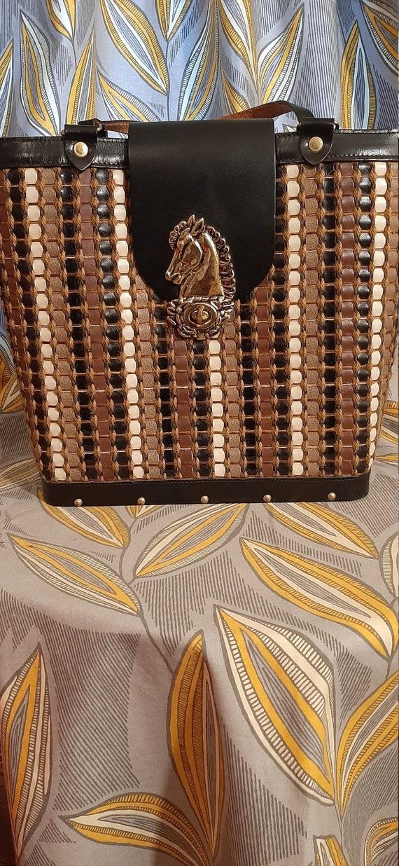 Collins of Texas Handbag, Collins Handbag, Leather