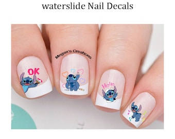 Toddler Nail Decals Etsy