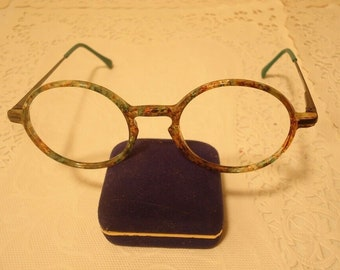 36b6df2241f Dollond Aitchison Eyeglass Frames Round Eyeglasses Harry Potter VI 3 Warner  Green 135 Lot 105 Vintage NOS