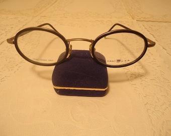 34d7ddc0879 Gant Tradewind Eyeglasses G 373 Black Marine Eyeglass Frames 49 23 140 Lot  344 Vintage Retro NOS New Old Stock
