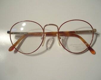 ceacc4290a1f81 NOS années 80 Antonio Leonardo Womens cuivre lunettes cadres 140 Lot de 10