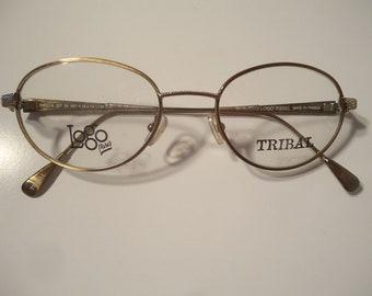 d036fd6ec41 Paris France Logo Tribal Massai Designer Eyeglass Frames Eyeglasses 49 19  135 Lot 14 Vintage Retro NOS New Old Stock French