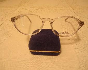 162eca0abd J and B Optical Eyeglasses Sissy Flex Eyeglass Frames Clear 44 18 125 Lot  326A Vintage Retro NOS New Old Stock