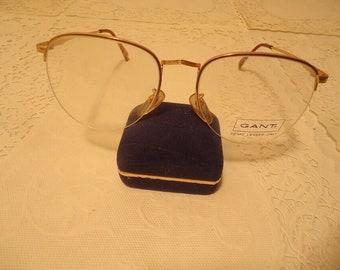 5bee8529e1 Gant Vantage Eyeglasses G 315 Gold Marine Eyeglass Frames 56 18 145 Lot 348  Vintage Retro NOS New Old Stock