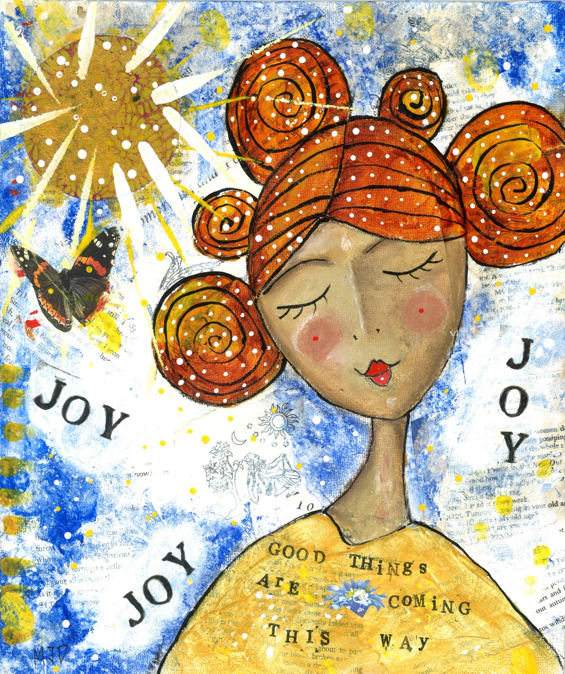 Art Print 'Joyful' by Miranda Day  art print  image 0