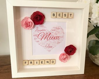 Word Art Box Frame