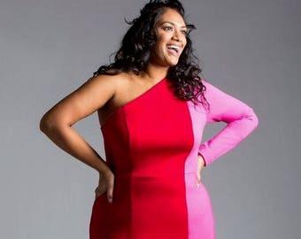 Color block dress   Etsy