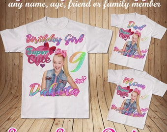 Jojo Siwa Birthday Shirt T Outfit