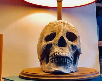 Skull lamp made to order