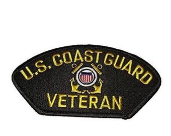 USCG Coast Guard Veteran Patch