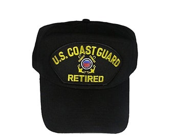 USCG Coast Guard Retired Hat Cap