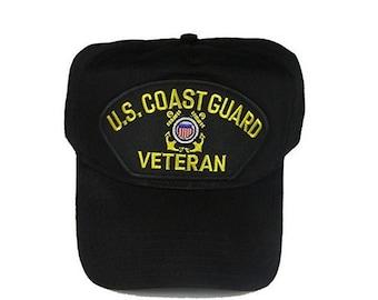 USCG Coast Guard Veteran Hat Cap