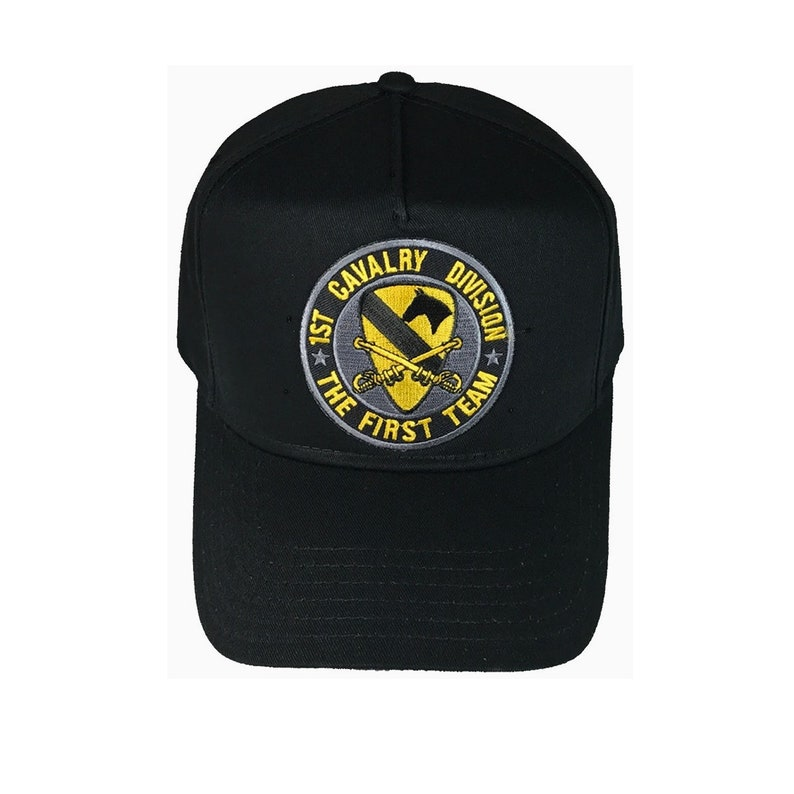 94d19fd7bbb US Army First 1st Cavalry Division The First Team Hat Cap