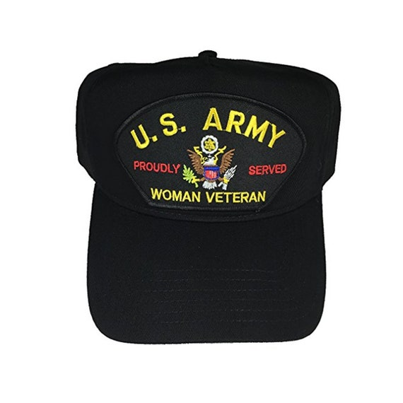 2fdbed1bd26 USA United States Army Woman Veteran Hat Cap