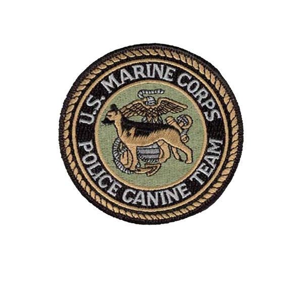 Novelty Military Patch US Marine Corps Retired Color Perfect Condition Sew-on