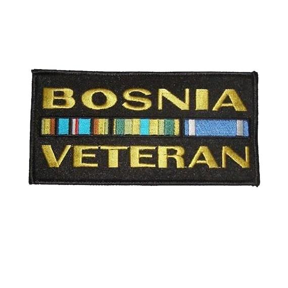 Bosnia Veteran Ribbon Patch