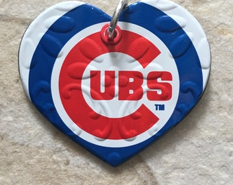 Cubs Necklace Charm
